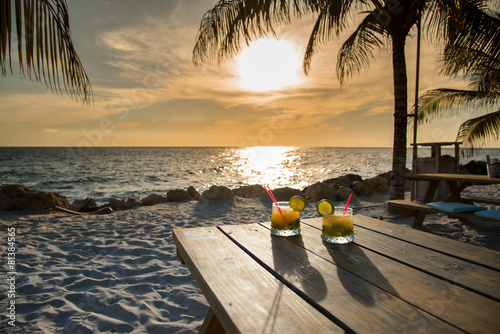 Poster Cocktail Sundowner