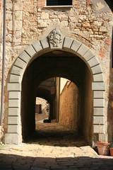 Toscana,Bibbona,Livorno,vicolo.