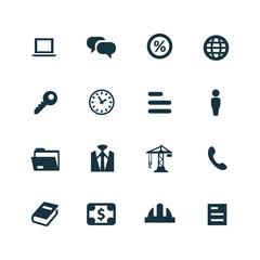 B2B icons set