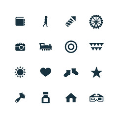 baby, kids icons set