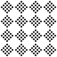 Seamless geometrical pattern of rhombuses.