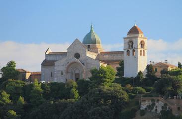 Cathedral of sacred Kiriak. Ancona, Italy