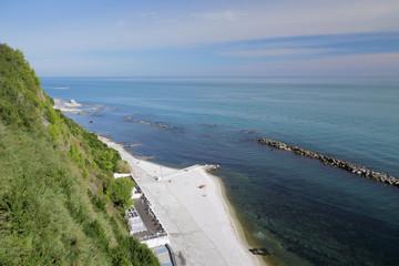 Passetto beach. Ancona, Italy