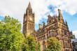 Leinwandbild Motiv Manchester Town Hall