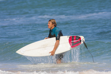 Young Surf Man