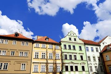 old houses  in Prague