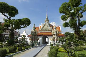 Wat Arun Bangkok Buddhist Temple Grounds