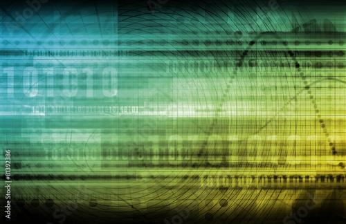 Leinwandbild Motiv Digital Marketing