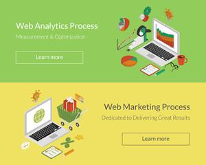 Analytics and marketing processes
