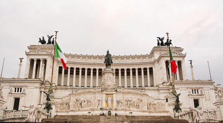Vittoriano or altar of the fatherland