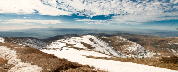 View from Mount Hermon.