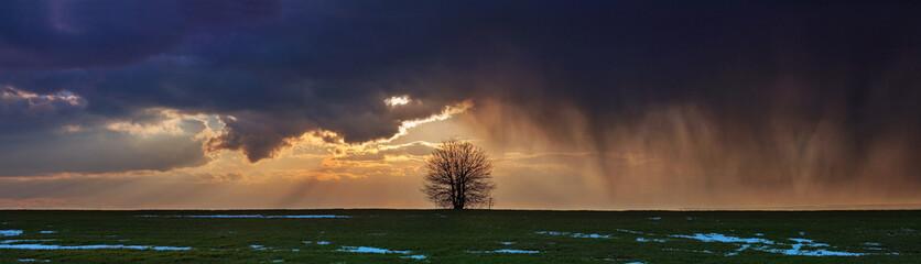 Panorama storm