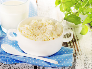 Cottage cheese as a healthy breakfast