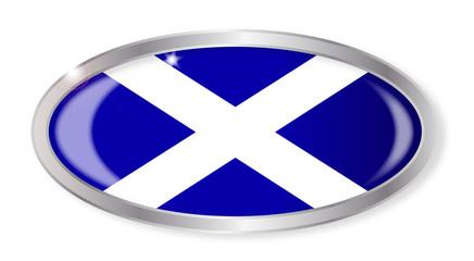 Scotland Flag Oval Button