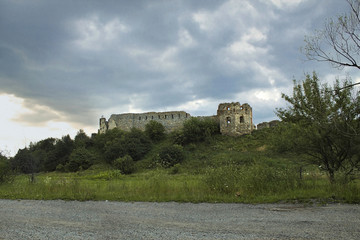 ruins of an ancient Pniewski castle