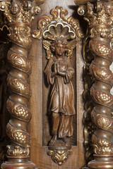 Engelfigur in der Kapuzinerkirche Wesemlin, Luzern