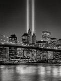 Fototapety Tribute in Light, September 11 Commemoration, New York City