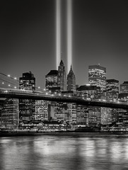 Hołd w światło, rocznicy 11 września, Nowy Jork