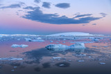 Midnight Sun - Weddell Sea - Antarctica