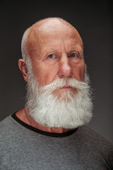 old man with a long white beard