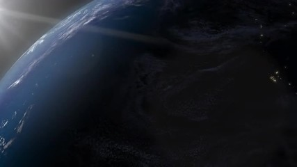 View of of Earth from space