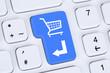 Online Shopping E-Commerce bestellen und einkaufen im Internet