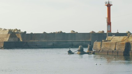 漁港の風景