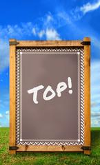 Strassenschild 34 - Top
