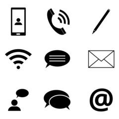 Icons Kommunikation