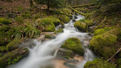 Bachlauf der Allerheiligen Wasserfälle