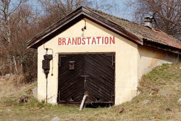 Gammal brandstation