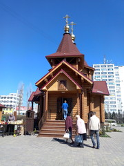Празднование Пасхи в Ростове-на-Дону