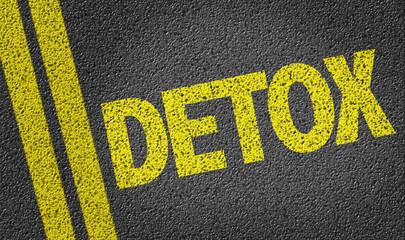 Detox written on the road
