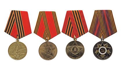 Медали к юбилеям празднования дня Победы
