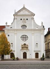 Seminary church in Kosice. Slovakia