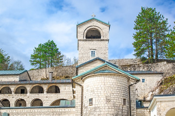 Orthodox monastery of Birth of Virgin Mary in Cetinje, Montenegr