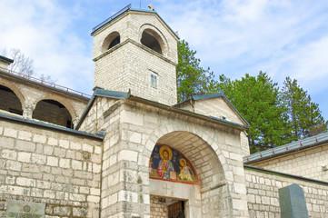 Orthodox monastery of Birth of Virgin Mary in Cetinje, Montenegr