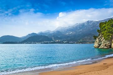 Coastline in Montenegro