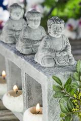 buddha bougie