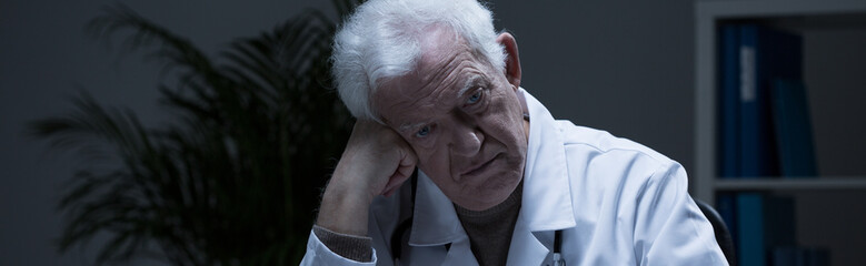 Experienced medic suffering for depression