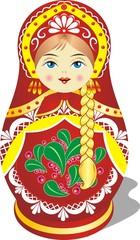 Russian toy matryoshka doll
