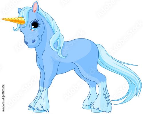 Standing unicorn - 81413104