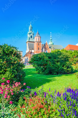 Wawel Castle and cathedral square, Krakow, Poland - 81413301