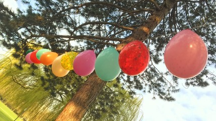 Luftballons zum Kindergeburtstag
