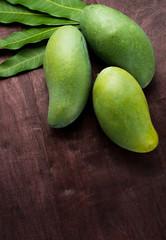 green mango .thai fruit