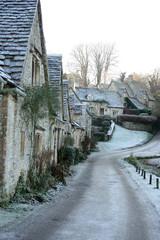 冬のイギリス田舎町の散歩