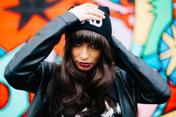 Bad Girl Street Rebel Model