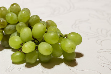 Detail of a fresh grapes