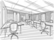 sketch of office - 81415900