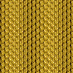 golden pattern plait seamless pattern